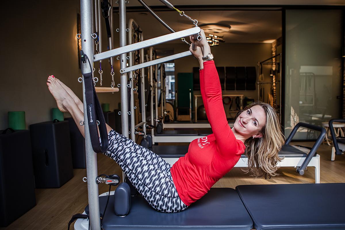 Personal training at Bodyvita pilates studio