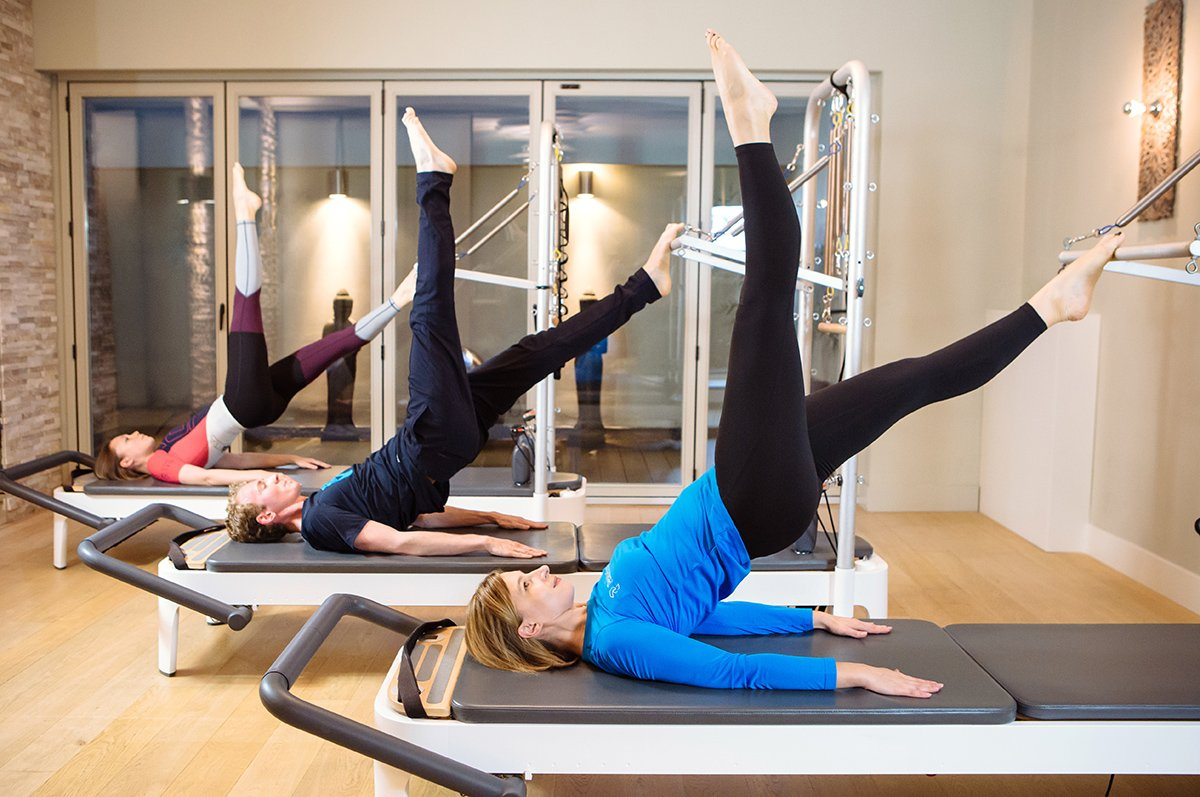 PILATES TRAINING IN GROUPS
